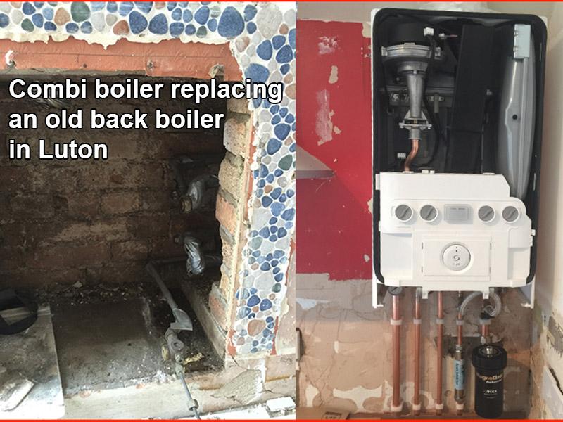 Combi boiler change in Luton