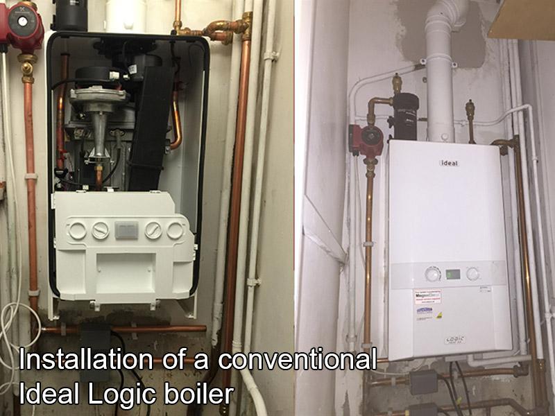 Conventional Ideal Logic Boiler