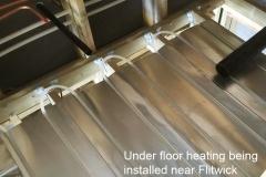 Underfloor heating in flitwick
