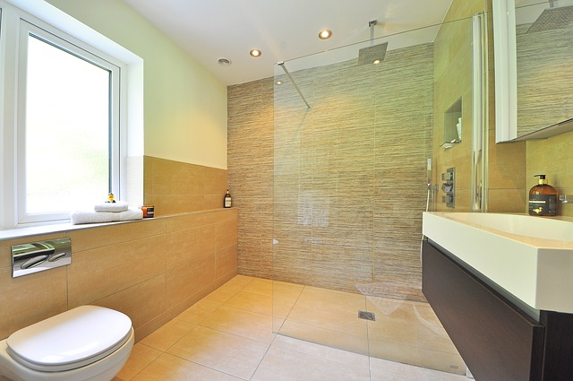 Floor to ceiling bathroom refit