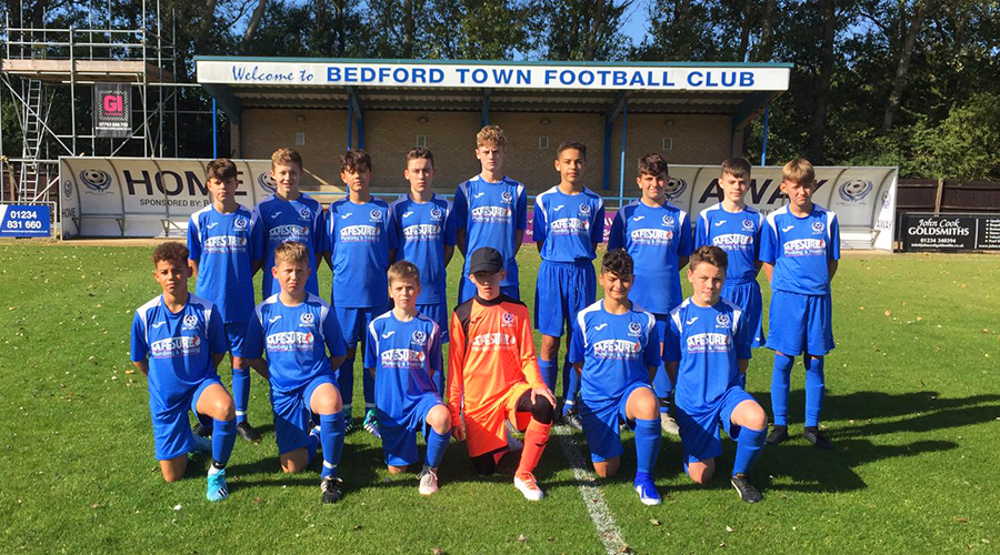 Sponsor for Bedford Town U14 team